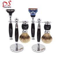 Dishi silvertip badger hair shaving brush set for man,Men Shaving Sets,Shaving Kits thumbnail image