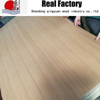 Engineering wood veneer spun gold Teak veneer