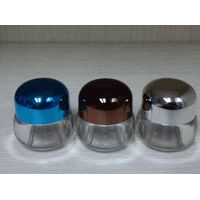 Small sample bottle, small cream jar, small plastic jar for sale