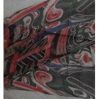 100% Silk Chiffon Scarves digital printed