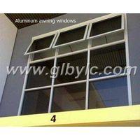aluminium top hung window