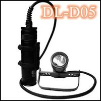 High end canister scuba diving light