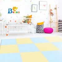New product high quality pu foam puzzle gymnastics mats with Macaron colors thumbnail image