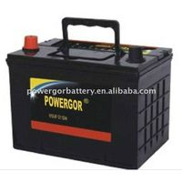 N100MF 12v 100ah used car and truck battery for sale