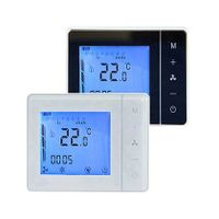 HTW-IZ12-24V-0-10V Air conditioning temperature controller Fan coil Thermostat