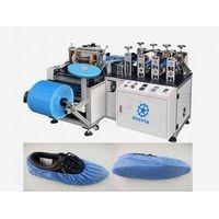 Nonwoven PP shoe cover making machine