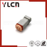 Free samples automotive connector gray female waterproof auto connector tyco amp