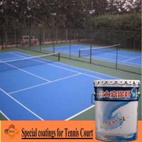 Special coatings for Tennis Court thumbnail image