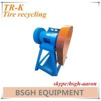 tire cutting machine waste tyre recycling machine TR-K