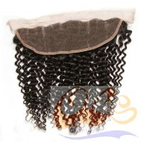 Favourite Product hot selling cheap price 413 hair lace closure 100% Brazilian human hair no tangl