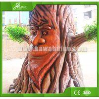 KAWAH Customized Outdoor Artificial Decorative Animatronic Robotic Talking Tree