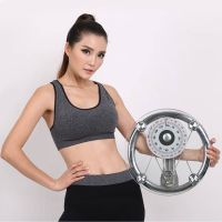 150kg Large Dial 8mm Round Tempered Glass Mechanical Personal Scale Health Scale