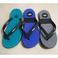 China custom flip flop slipper fashion printing mens beach pvc slipper