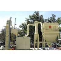 What are the main mills used in the Grinding plant?