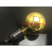 G95 global amber gloden filament led decorated bulb 4W for hall /home/restaurant decoration