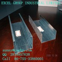 Light steel frame structure for warehouse