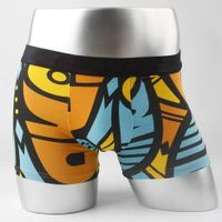 High quality Boom allover full printed men's boxer underwear with cotton