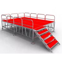 Outdoor Aluminum Used Portable Stage for Sale
