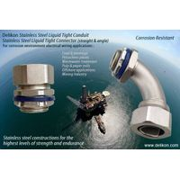 Corrosion Resistant Stainless Steel Liquid tight Connector stainless steel liquid tight conduit thumbnail image