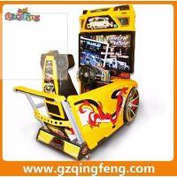Guangzhou Qingfeng Driving coin operated simulator arcade racing car game machine