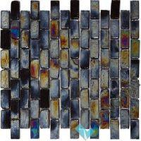 "12"" Iridescent Glass Mosaic Tile(L2IBS005)"