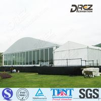Huge Luxury Exhibition Activity Arcum Tent for Outdoor Events