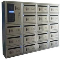 hot steel electronic mailbox