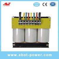 ABOT 3 Phase to 3 Phase 220V to 380V Step Up Isolation Transformer 50KVA thumbnail image