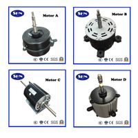 small AC motor and centrifugal blower for heating, ventilation, air condititioner and refriger thumbnail image