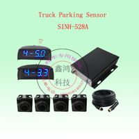 Parking sensor with LED display for truck/bus