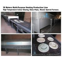Mosaic Furnace Swimming Pool Tiles Making Machine