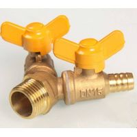 Brass Forked gas switch