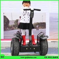 72V lithium battery electric chariot X2 with CE approved