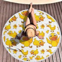 customized microfiber high quality round beach towels on sale