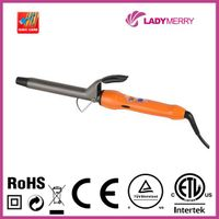 Hot 430F Spring Ceramic Tourmaline Negative Ion Curling keratin iron