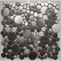 Pebble Stainless steel mosaic thumbnail image