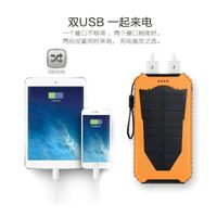 outdoor camping led solar charger for cell phone thumbnail image