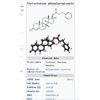 Testosterone Phenylpropionate 1255-49-8 TESTOSTERONE 17-PHENYLPROPIONATE