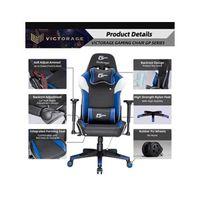 VICTORAGE Alpha Series Ergonomic Design Gaming Chair(Blue)