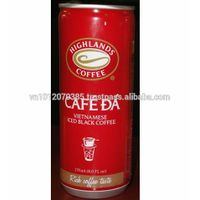 Vietnamese Iced Black Coffee 235ml FMCG products Wholesale