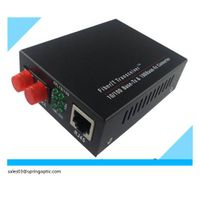 10/100 Mbps Dual auto-negotiation Fiber Ethernet Media Converter