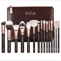Hot Sale Professional Zoeva Golden Brush 15PCS/Set Long Lasting Toothbrush Makeup Brush