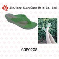 High heel PVC women slipper mould GQP0208