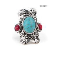 Rhinestone R06-9034resin ringsRhinestone Ring Set