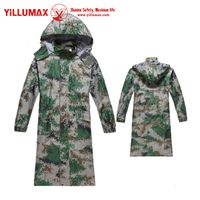 New style Reasonable price waterproof Long conjoined camouflage raincoat YM11R01 thumbnail image
