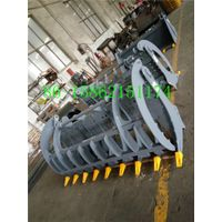 skid loader grass grapple
