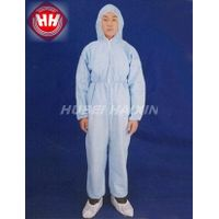 Disposable Nonwoven SMS Coverall With Hood thumbnail image