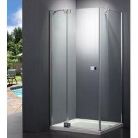 NEW DESIGN Rectangle Hinged Shower Enclosure thumbnail image