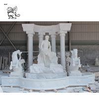 garden stone water fountain marble Trevi fountain