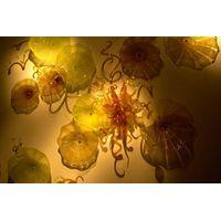 Modern Luxury Attractive Handblown Glass Wall Art